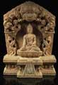 SHAKYAMUNI-ALTAR - Holzschnitzerei aus Nepal