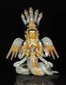 NAGA KANYA mit Gold und Silber, 20 cm