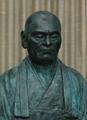 DESHIMARU - Büste in Bronze - Unikat
